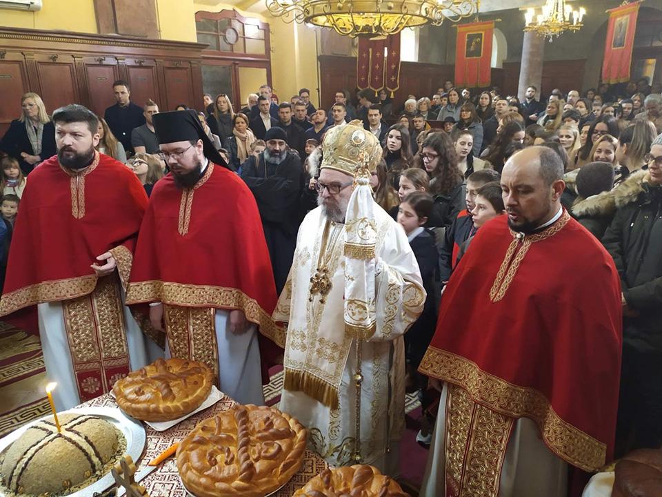 Беседа Његовог Преосвештенства Епископа будимског Господина Лукијана на празник Светога Саве2021. године